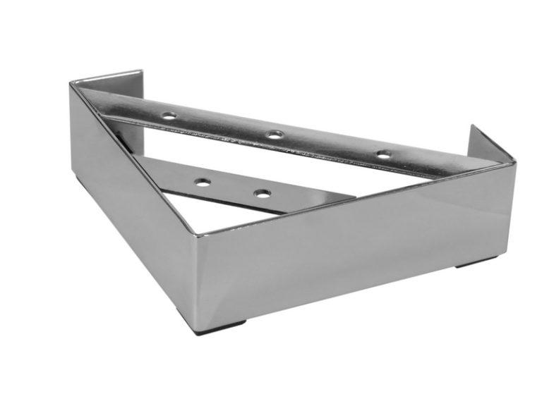 Угловая мебельная опора Деконика МП-19, чертеж